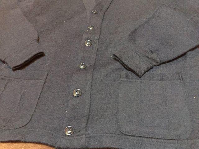 アメリカ仕入れ情報#43 デッドストック発見⑬ 50s〜CAMPUS all wool カーディガン&80s Lee  denim JKT_c0144020_11090089.jpg