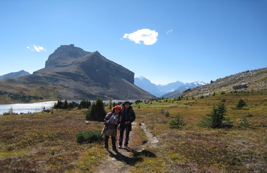 レイクルイーズエリアから更に奥へ スコーキーロッジ滞在ハイキング4日間_d0112928_06585223.jpg