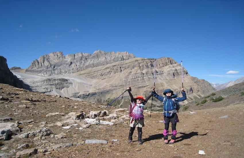 レイクルイーズエリアから更に奥へ スコーキーロッジ滞在ハイキング4日間_d0112928_07042972.jpg