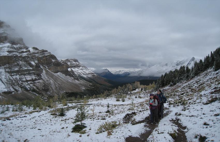 レイクルイーズエリアから更に奥へ スコーキーロッジ滞在ハイキング4日間_d0112928_07413579.jpg