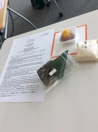 朝日カルチャーセンター中之島『英語で学ぶ日本文化』Seeptember14th  2017_c0215031_11404425.jpg