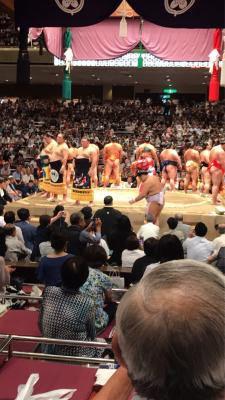 大相撲9月場所にいってきましたー❤️❤️_b0259538_20564861.jpg