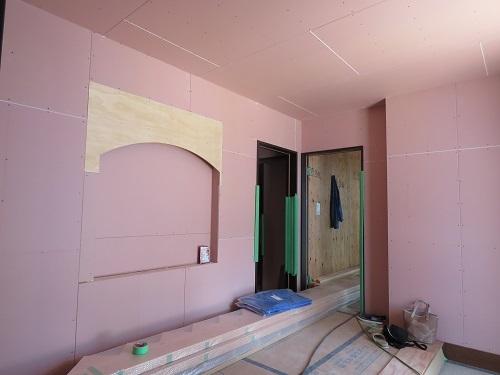 N様邸 R壁できていました(^^)v_e0159249_14090941.jpg