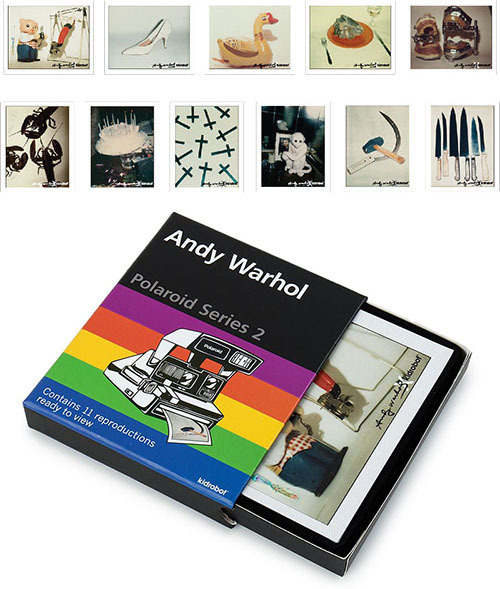 Andy Warhol Polaroid Print Set Series 2_c0155077_10170490.jpg