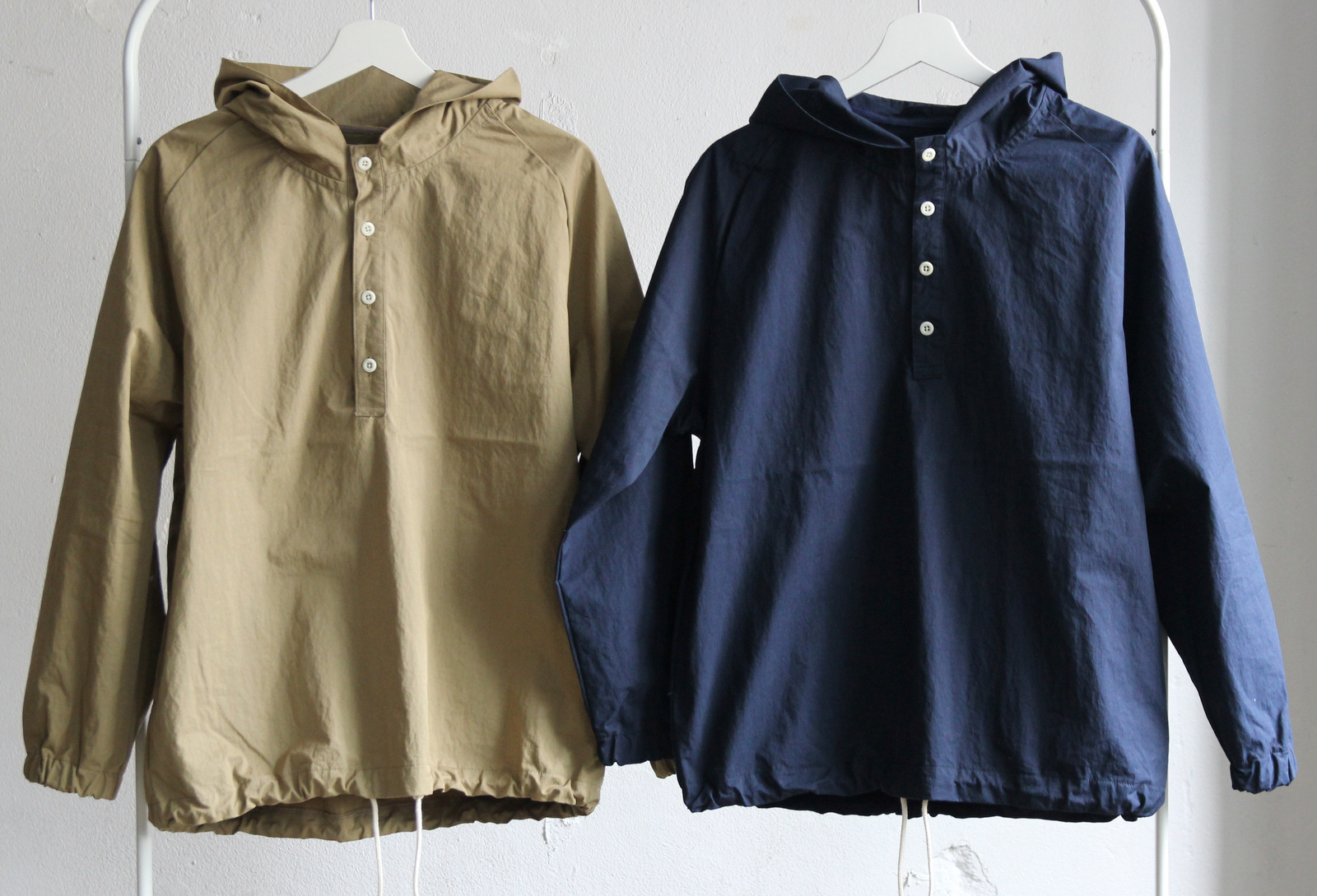 Cotton Nylon Pull Over Parka_c0379477_19363167.jpg