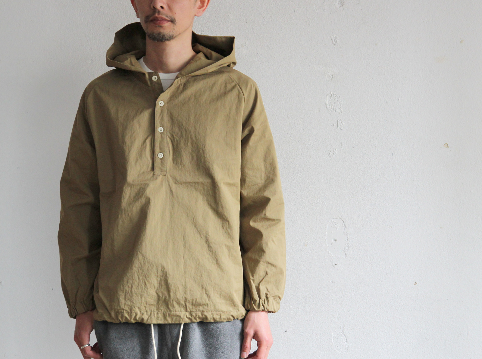 Cotton Nylon Pull Over Parka_c0379477_19403714.jpg