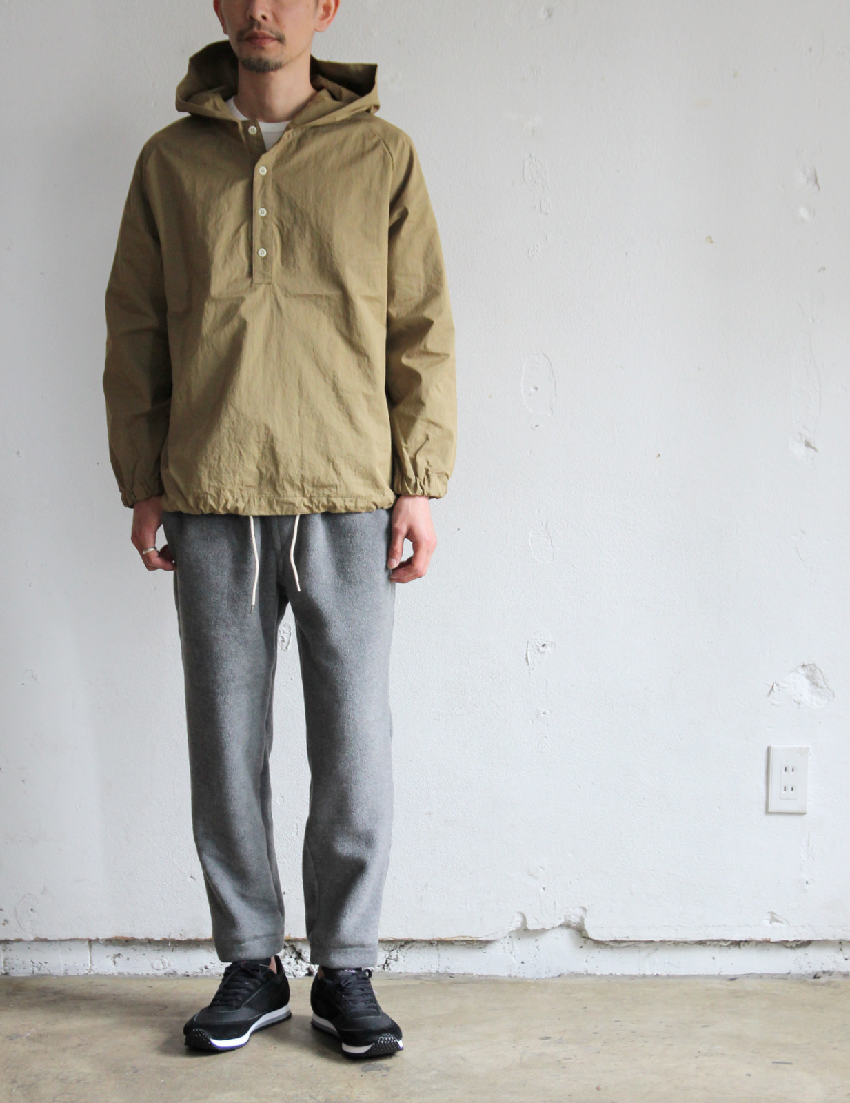 Cotton Nylon Pull Over Parka_c0379477_19410542.jpg