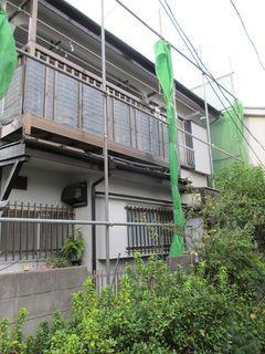 練馬区の北町で、屋根取り替え工事_c0223192_00044566.jpg