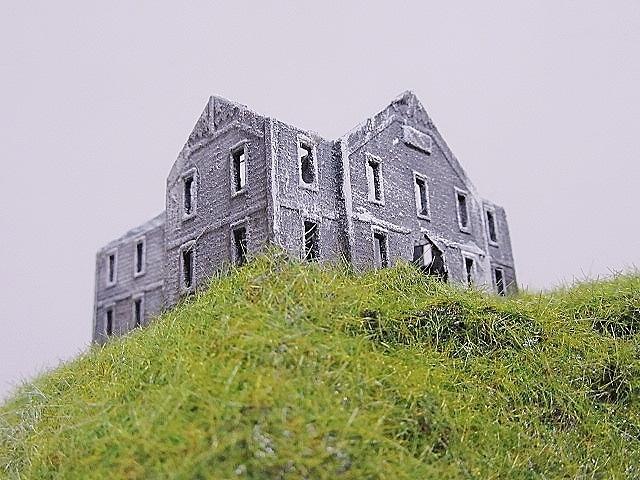 製作中盆ラマ「丘の上の廃墟にて、」_f0227828_20233837.jpg