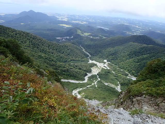 大山中ノ沢無雪期登攀_b0077448_08215252.jpg