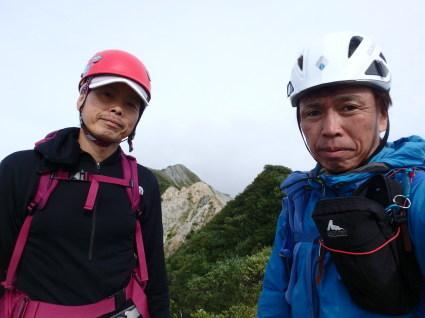 大山中ノ沢無雪期登攀_b0077448_08225980.jpg