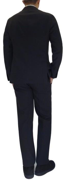 LARDINI ラルディーニ ホップサックウールパッカブルスーツ ダークネイビー_c0118375_22365826.jpg
