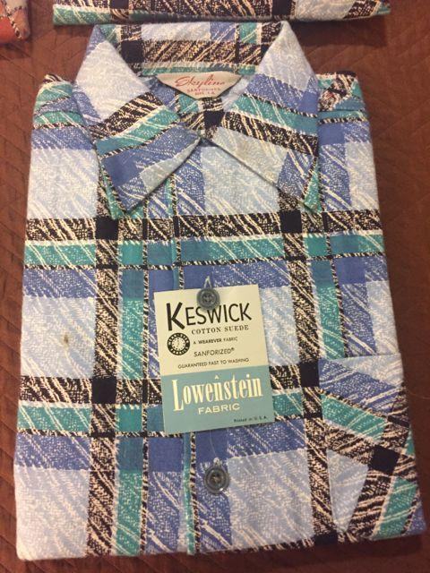 アメリカ仕入れ情報#55 デッドストック発見25 50s プリント ネルシャツ、コーデュロイシャツ&60sシャツ_c0144020_14064581.jpg