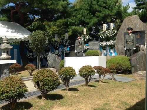 『平成29年度 福島県自衛隊殉職隊員追悼式』_f0259324_937441.jpg