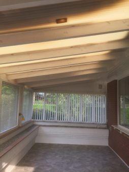 サンルームの屋根のリフォーム_b0253226_05134425.jpg
