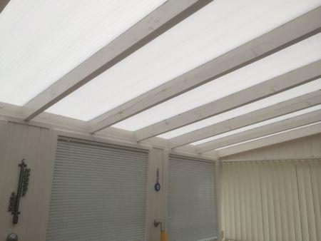 サンルームの屋根のリフォーム_b0253226_05140672.jpg