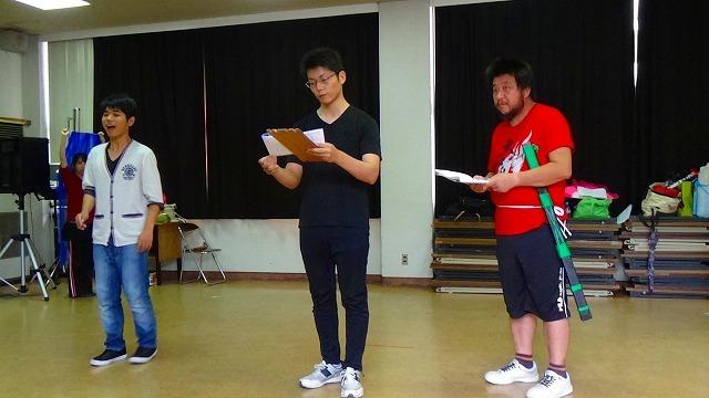 Musical 有間皇子 稽古風景ー2_b0326483_21362906.jpg
