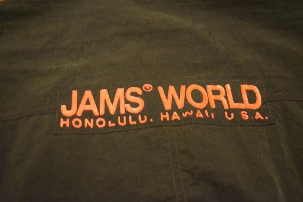 "1980's \""JAMS WORLD\"" ナイロンジャケット!!!_c0355834_20422476.jpg"
