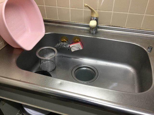 賃貸第一弾  キッチン水栓交換_f0031037_20100453.jpg
