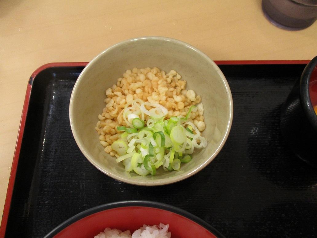 209杯目:富士そば阿佐谷店で玉子かけご飯セット_f0339637_13373846.jpg