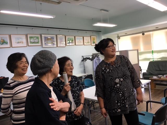 編み物教室&ゴルフ教室&書道教室_c0113948_14263645.jpg