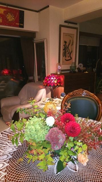 神戸から、芸術の秋(2)お花の安らぎ_a0098174_22243367.jpg