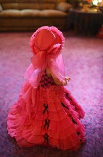 可愛いドレスなのにね〜お天気同様....荒れ模様..._b0194185_21541843.jpg