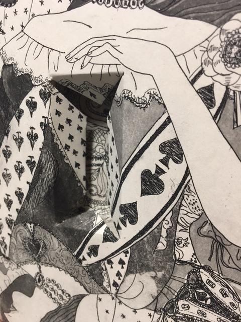 『時の女王』時よ止まれ!『時を感じるアート展』伊勢丹アートギャラリー_b0010487_10291920.jpg