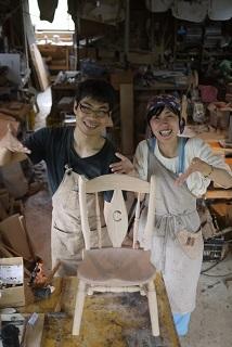 ②続・工房へ「コジマアツシ」椅子展 at  ハクトヤ:篠山_f0226293_09120020.jpg