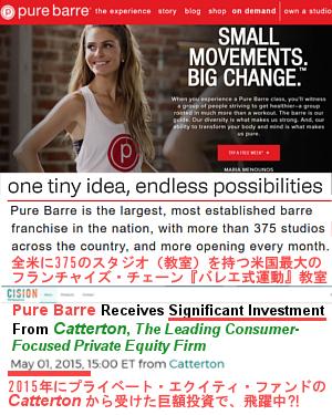 米国最大のフランチャイズ・チェーン・バレエ式エクササイズ教室「ピュア・バール」Pure Barre_b0007805_2341786.jpg