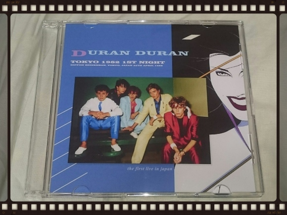 DURAN DURAN / TOKYO 1982 1ST NIGHT_b0042308_01204117.jpg