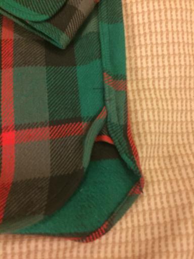 アメリカ仕入れ情報#56 デッドストック発見#26 60s  マチ付きSears ヘビーネルシャツ_c0144020_01254367.jpg