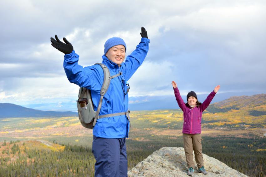 極北の秋 ツンドラ紅葉 フィッシュ レイク ハイキング_d0112928_08134980.jpg