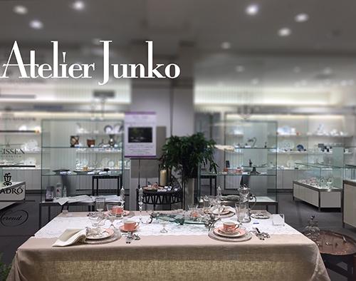 名古屋 三越 Atelier Junko テーブルセッティング autumn_c0181749_10543156.jpg