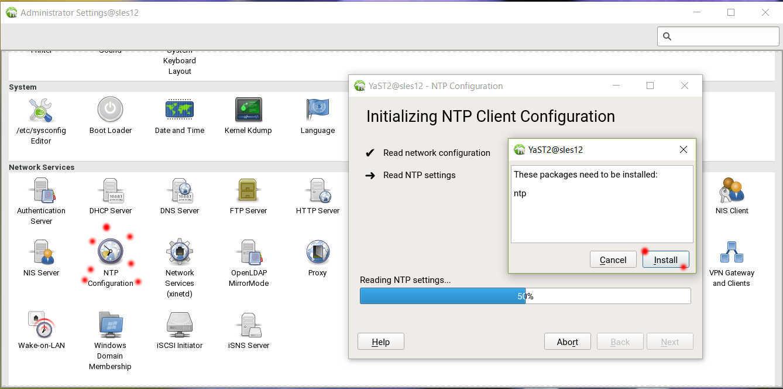 SUSE Linux (SLES12) を YaST で NTP の設定_a0056607_15591361.jpg