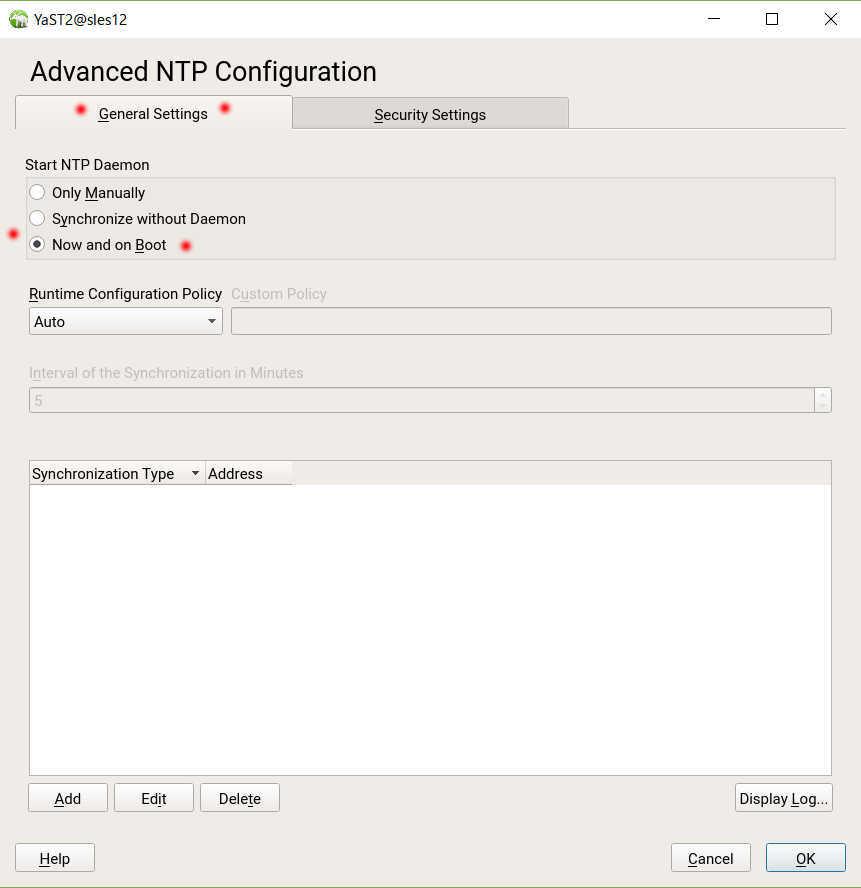 SUSE Linux (SLES12) を YaST で NTP の設定_a0056607_16011410.jpg