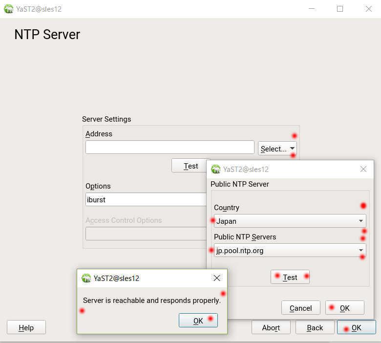 SUSE Linux (SLES12) を YaST で NTP の設定_a0056607_16041880.jpg