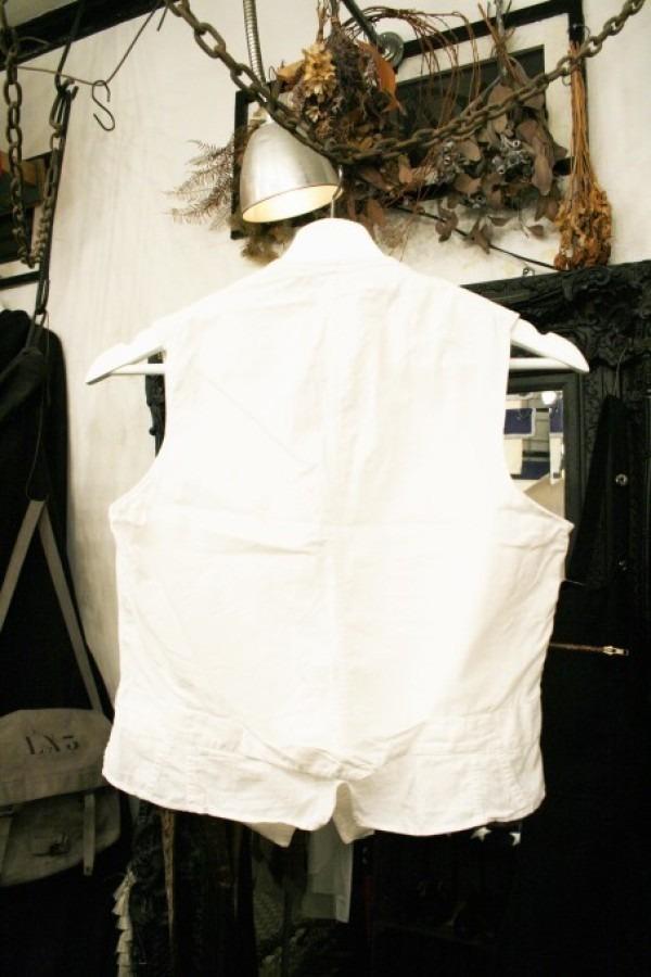 最近の色々 髪型とか猫とかお土産とか (入荷メンズ フランスの古~い白いもの、ちょっと古い白いもの_f0180307_22054140.jpg