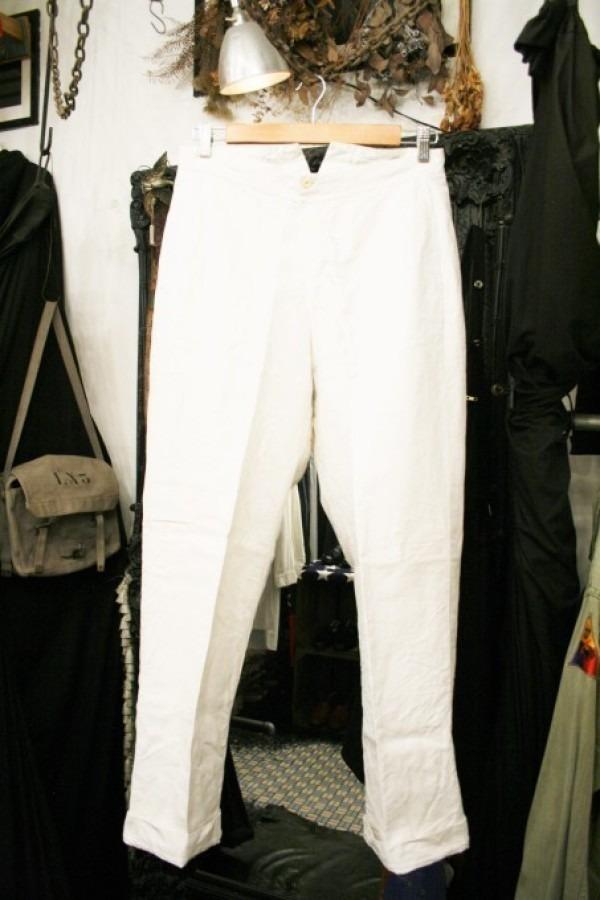 最近の色々 髪型とか猫とかお土産とか (入荷メンズ フランスの古~い白いもの、ちょっと古い白いもの_f0180307_22124864.jpg