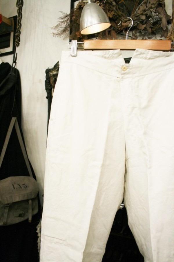 最近の色々 髪型とか猫とかお土産とか (入荷メンズ フランスの古~い白いもの、ちょっと古い白いもの_f0180307_22124902.jpg