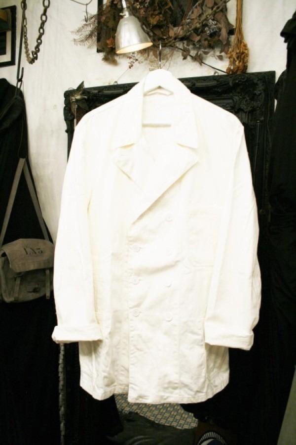 最近の色々 髪型とか猫とかお土産とか (入荷メンズ フランスの古~い白いもの、ちょっと古い白いもの_f0180307_22171131.jpg