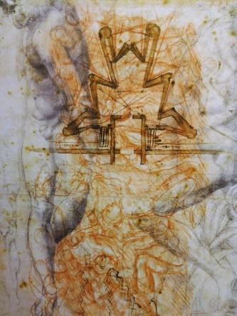 レオナルド × ミケランジェロ展 三菱一号館美術館_e0345320_11283098.jpg