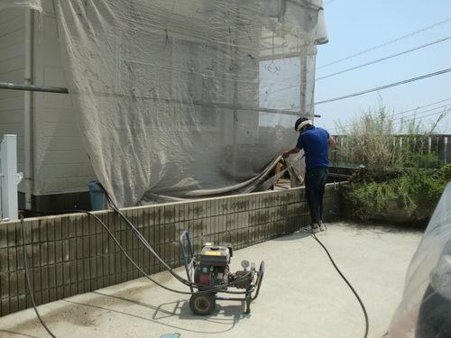 廿日市市 T様邸・外壁塗装工事_d0125228_3295362.jpg