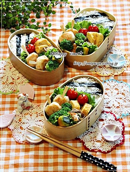 つくね弁当と今日のわんこ♪_f0348032_18214860.jpg