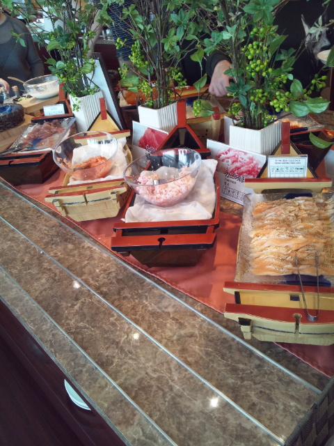 ベッセルイン札幌中島公園 朝食ブッフェ_f0076001_063551.jpg