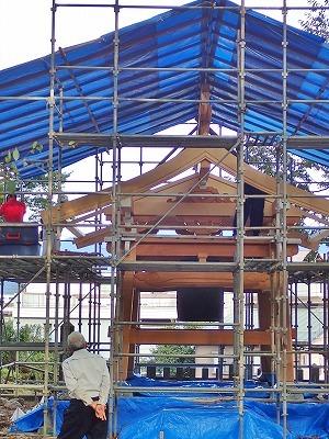 鐘楼の建て替え_c0336902_18384139.jpg