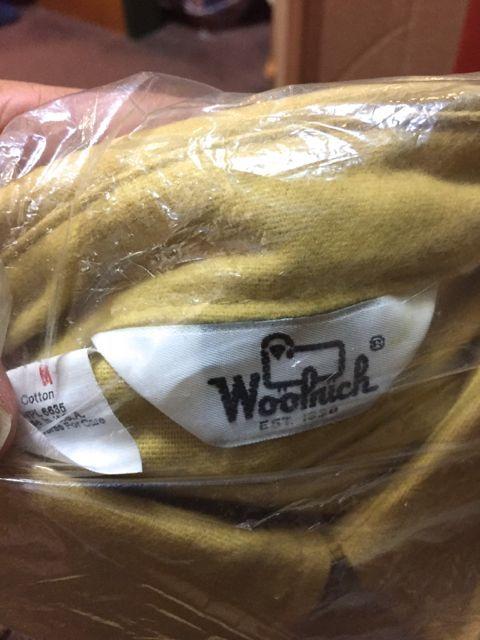 アメリカ仕入れ情報#58 デッドストック発見28 80s〜WOOLRICH シャモアクロス シャツ _c0144020_14295414.jpg