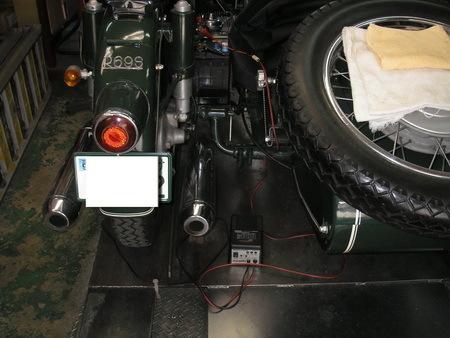 BMW R69S改100+BAUER サイドカー 継続検査_e0218639_15374971.jpg