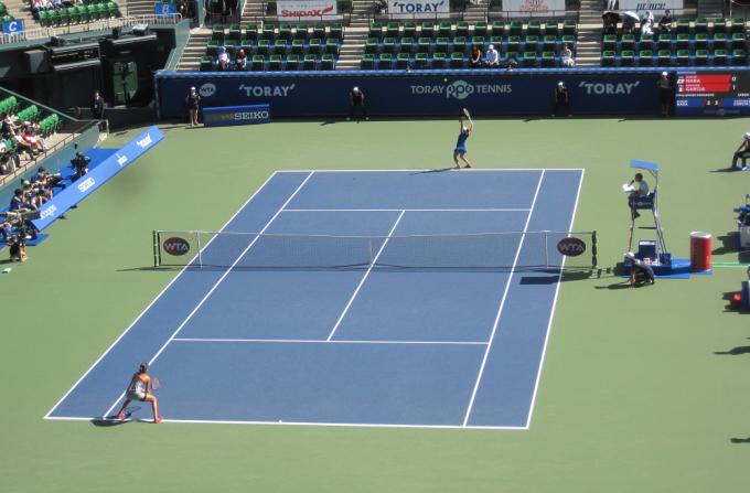 東レ パン パシフィックオープンテニスに行ってきました_a0151444_11335048.jpg