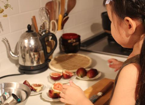 4歳の娘とのお料理日記 9月22日_e0340757_14305801.jpg